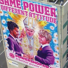 powershop POPE-GAY-MARRIAGE-AD-BILLBOARD